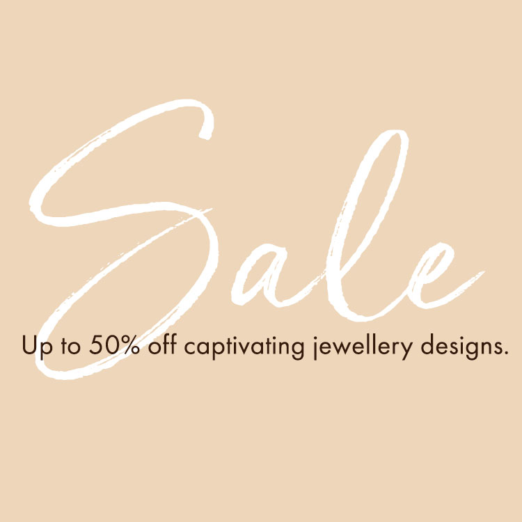 Sale: Up to 50% off captivating jewellery designs