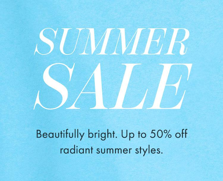 Summer Sale: Up To 50% Off